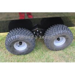 Remorque de transport de personne 8 à 10 places - RCTP8 - balanciers robustes et roues 22x11x8 renforcées