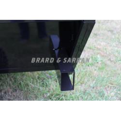 Feux de signalisation arrière à LED, sans fil et aimanté, avec niches de protection