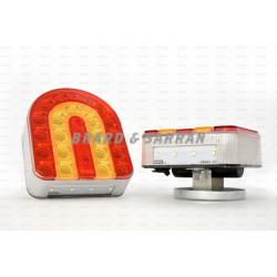 Feux de signalisation arrière à LED, sans fil et aimanté