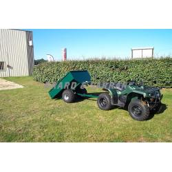 Remorque utilitaire quad/SSV 2 roues - R600S