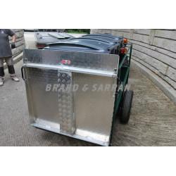 Remorque porte-containers 2.00 x 0.80 m - RPC2008