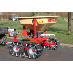 Kit chenilles agricole pour chariot porteur