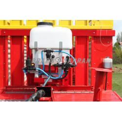 Kit de pulvérisation 12V 120 L pour acide ou conservateur sur fourrage
